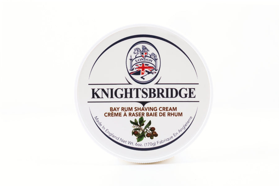 Knightsbridge Shaving Cream 170g - Bay Rum