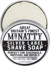 Mr Natty Silver Label Shave Soap 80g