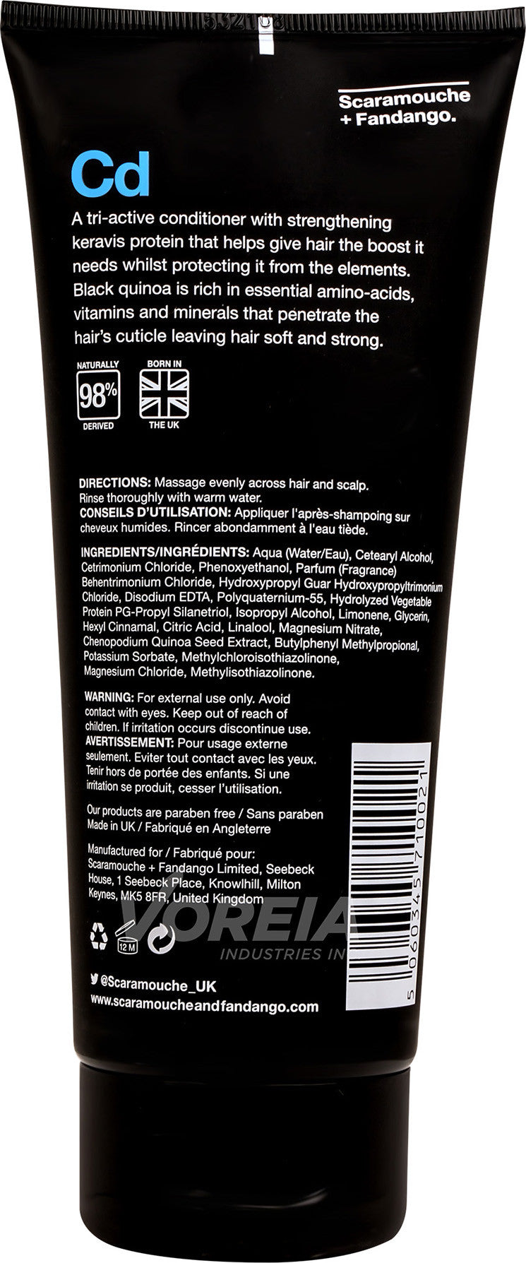 S&F - Conditioner - 200ml