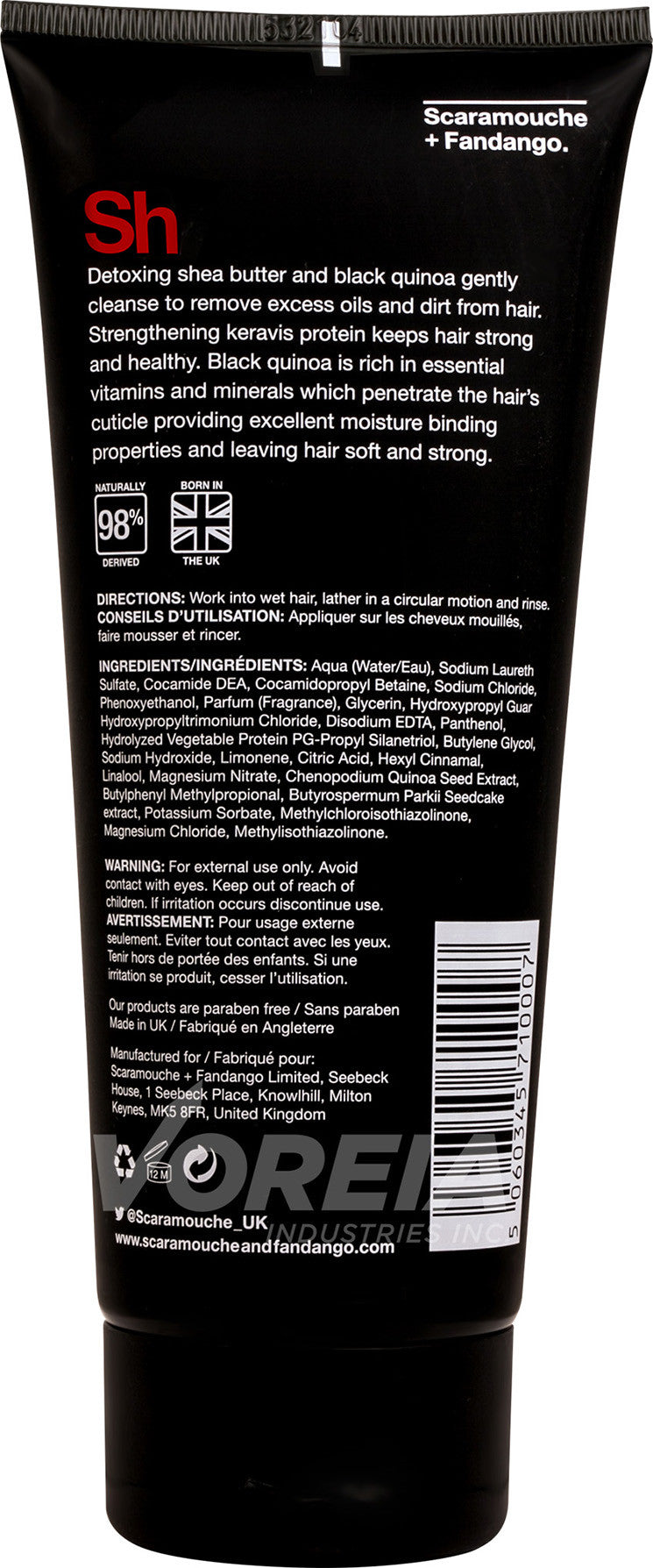 S&F - Shampoo - 200ml