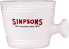 Simpsons - Ceramic Shaving Mug - Large