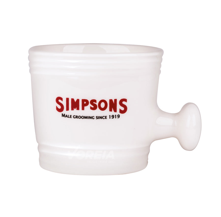 Simpsons - Ceramic Shaving Mug - Small