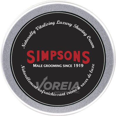 Simpsons - Shaving Cream 125ml -Luxury