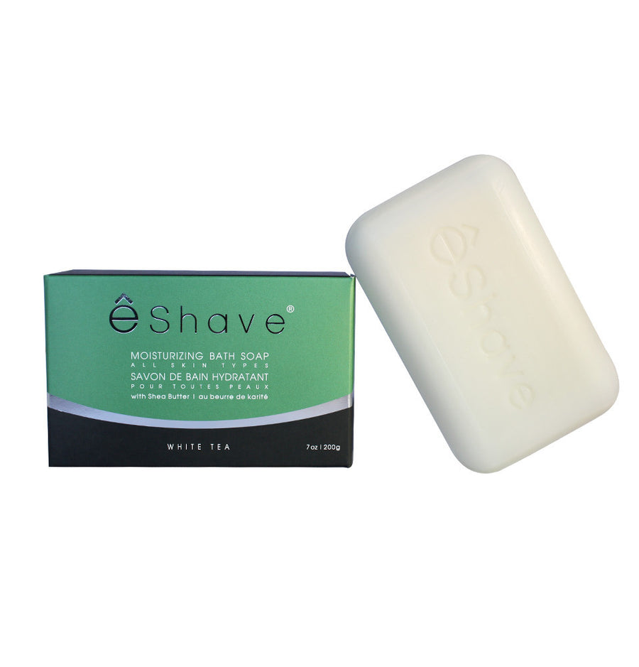eShave Bath Soap 200g - White Tea