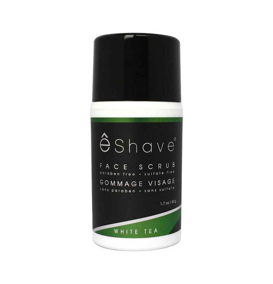 eShave Face Scrub 50g - White Tea