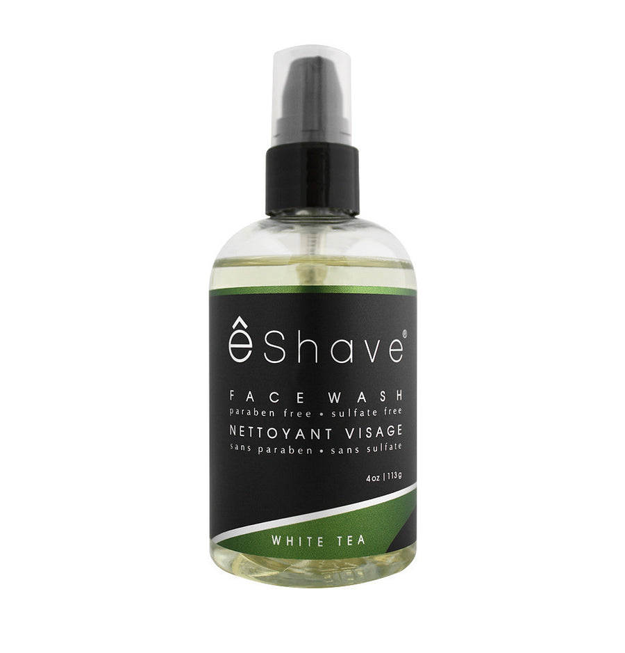 eShave Face Wash 113g - White Tea