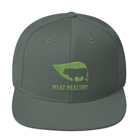 Meat Healthy Wool Blend Snapback