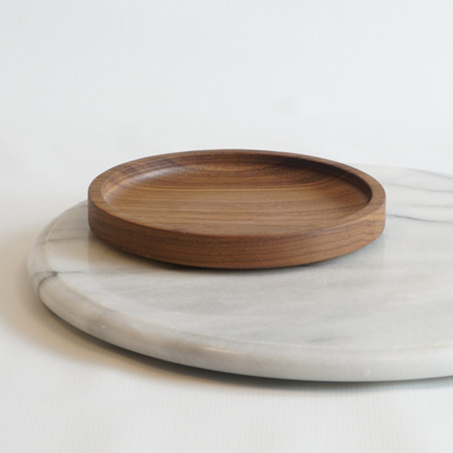 solid wood plate