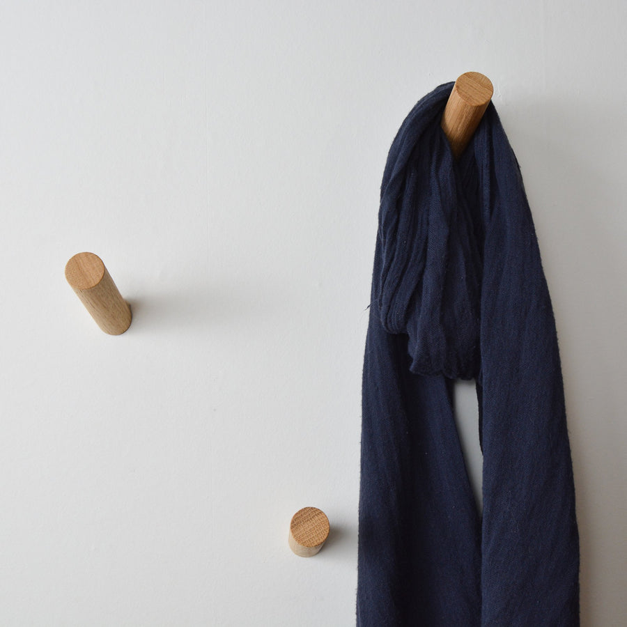 wood peg hook