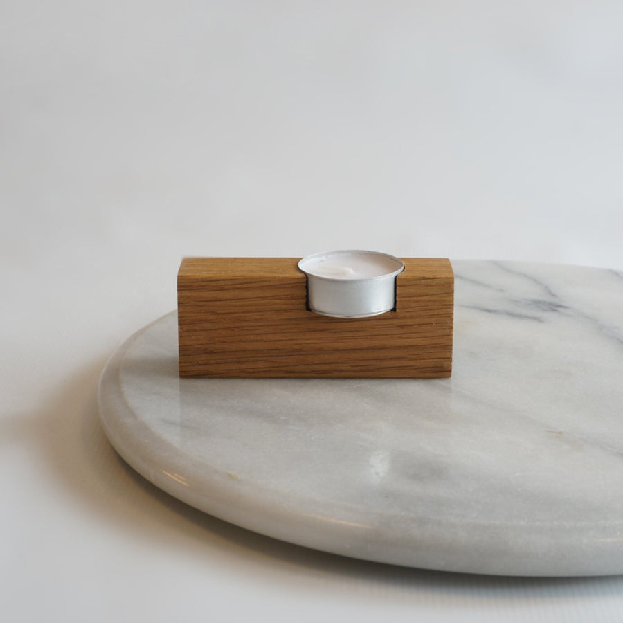 Solid Wood Tealight Holder