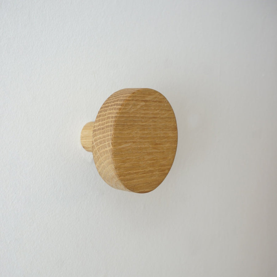 Solid Wood Saucer Hook