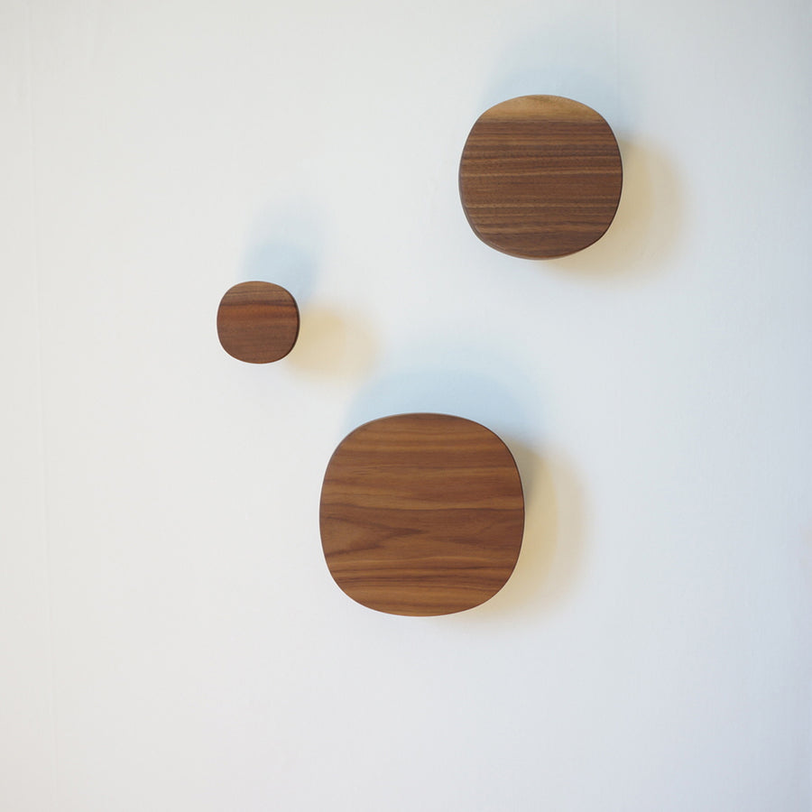 Square Wood Wall Hook