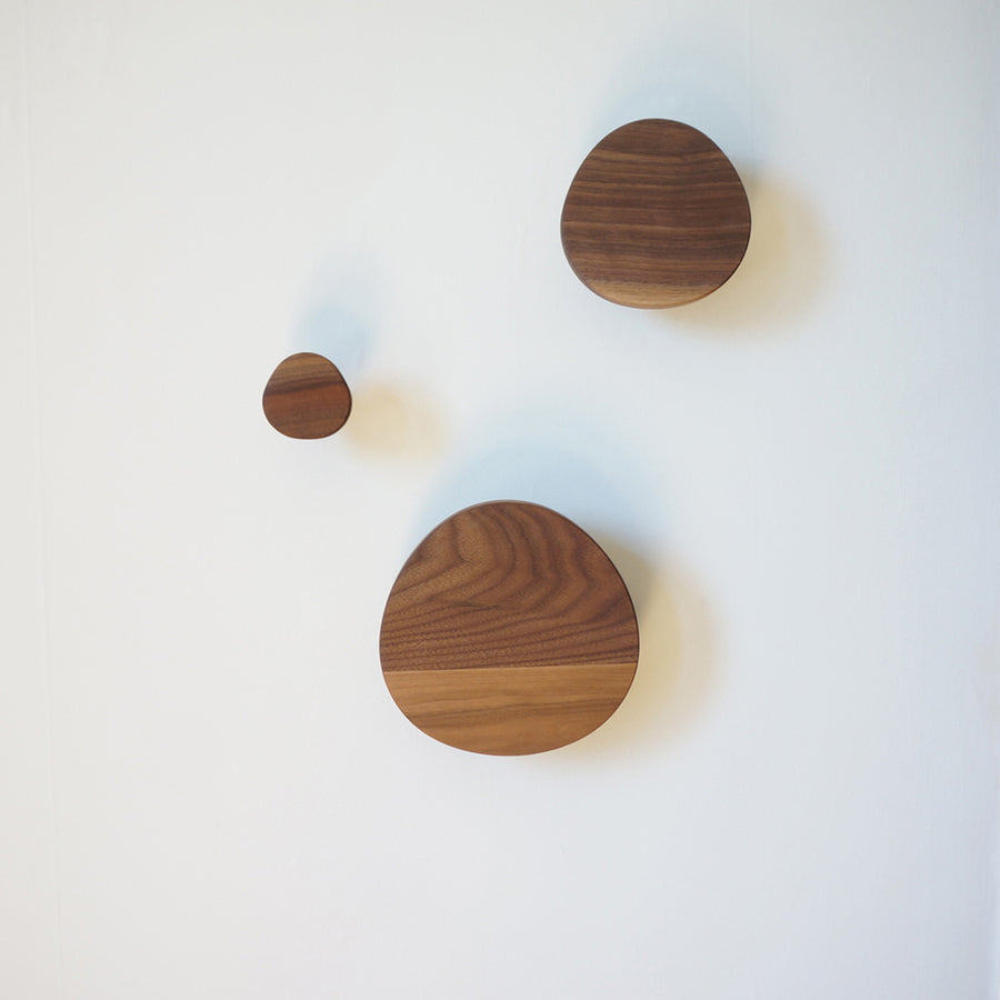 Triangle Wood Wall Hooks