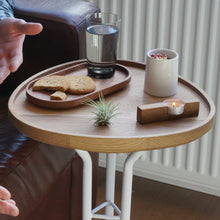 Load image into Gallery viewer, Side table with removable tray