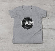 """I AM"" Affirmation Shirt (Youth)"