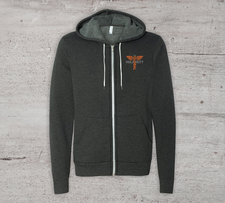 Global Majority Zip-Up Hoodie