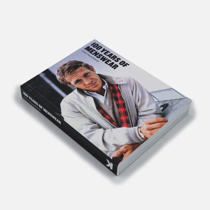100 years menswear book cally blackman