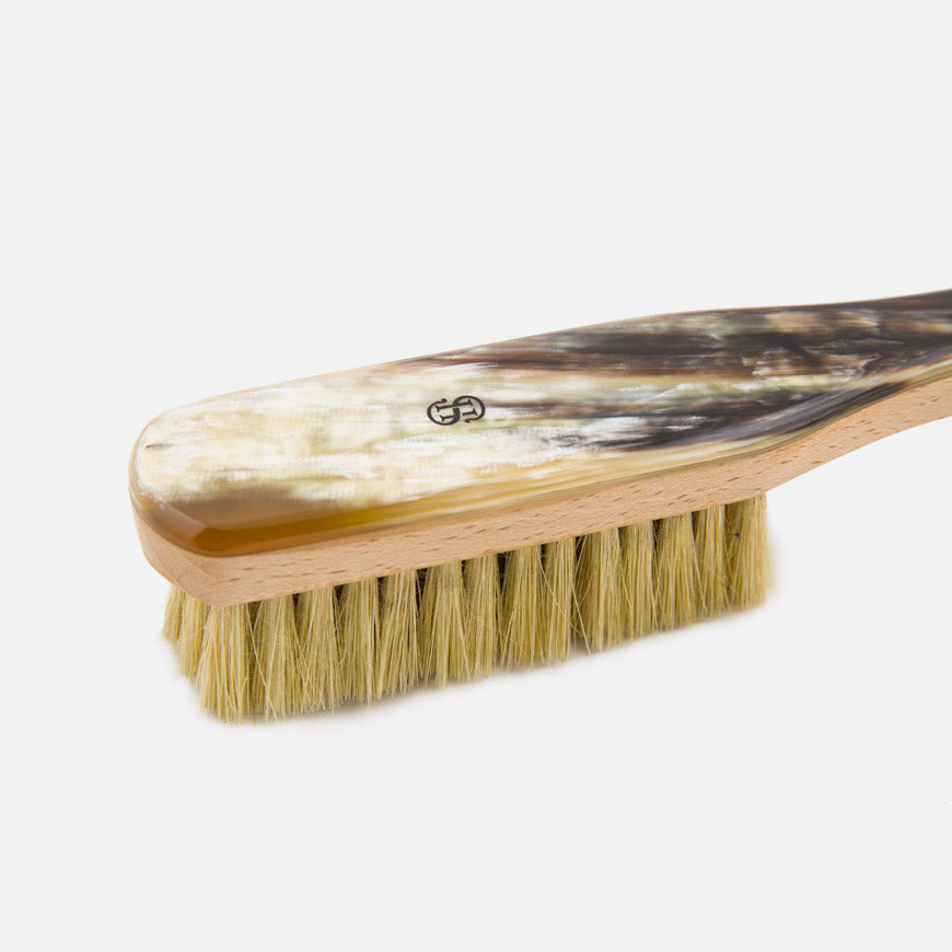 natural bristle clothes brush