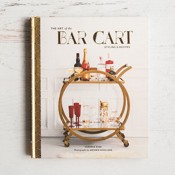 art of bar cart book vanessa dina