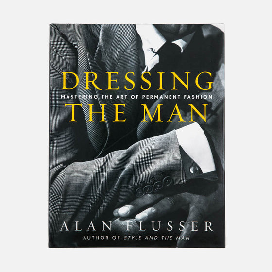 dressing man alan flusser book mastering art permanent fashion