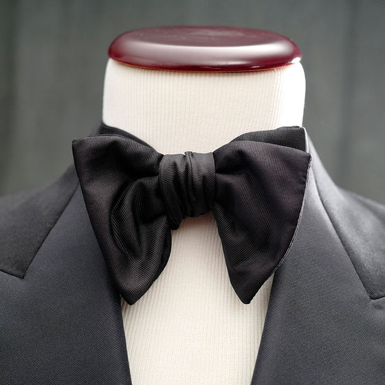 best formal bow tie tuxedo jumbo modified butterfly satin grosgrain le noeud papillon