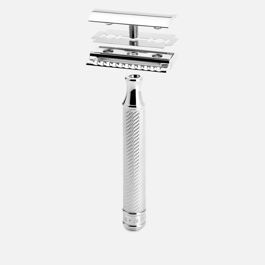 muhle safety razor chrome r89