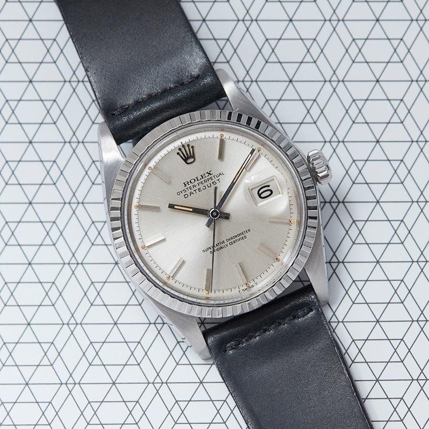 rolex datejust 1603 vintage watch
