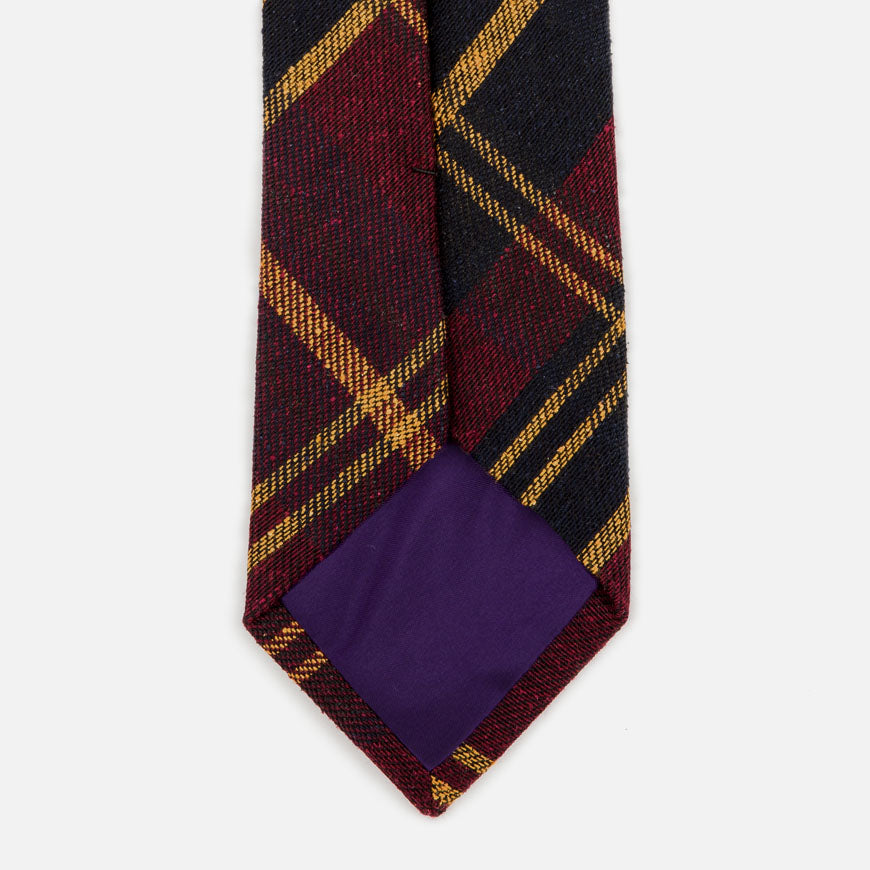 seaward stearn tartan plaid tie