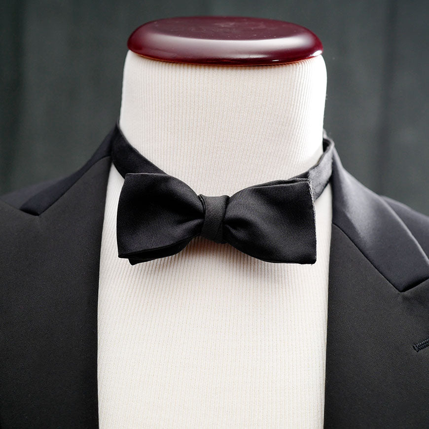 best formal bow tie tuxedo straight end satin grosgrain le noeud papillon