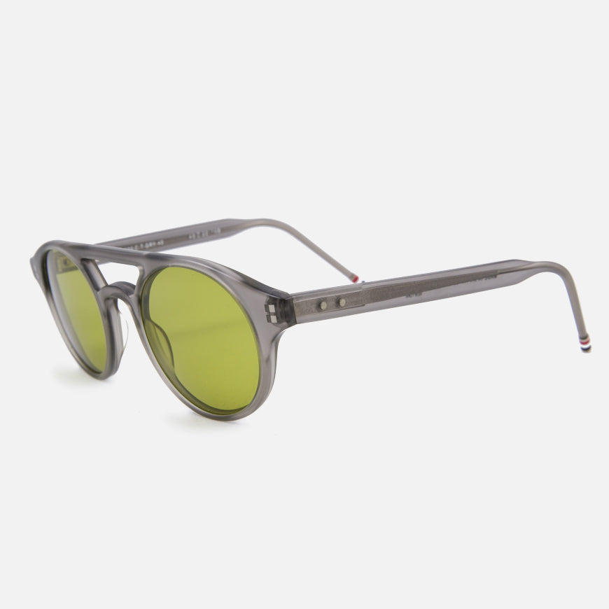 thom browne sunglasses tb-300 grey yellow