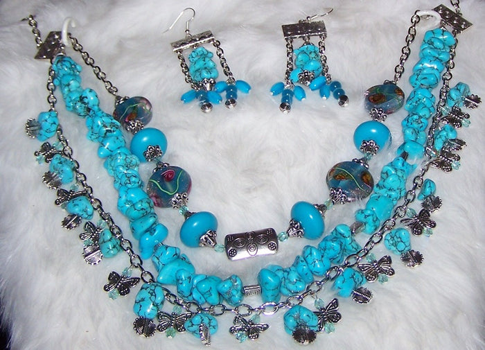 Jewelry:Sets  NECKLACES & MATCHING EARRINGS