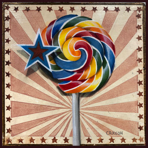 30-in-30, Day 4, Swirl lollipop