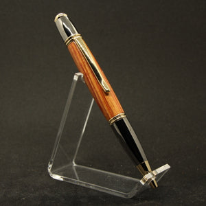 G-EH Gatsby Tulip Twist Pen With Gold and Gun Metal Trim