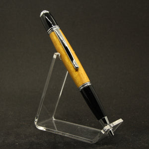 G-FA Gatsby Yellowheart Twist Pen With Chrome Trim
