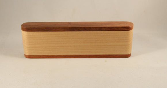 SMR - Single Pen Maple and Rosewood With Display Case