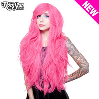 Atomic Hot Pink Hologram Wig