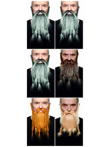 5 Braid Beard & Mustche