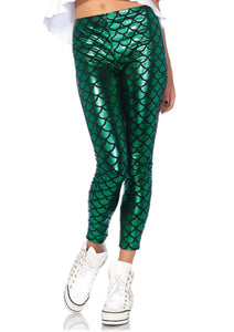 Hipster Mermaid Leggings