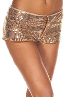 Sequined Booty Shorts