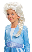 Elsa Wig Child Frzoen II