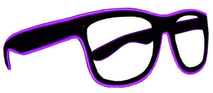 Light Up El Glasses Purple