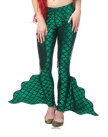 Mermaid Pants Green