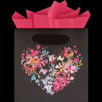 Floral Heart Petite Square Bag