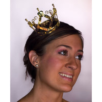 Mini Crown w/ Hearts Gold