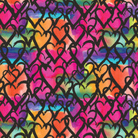Graffitti Love Gift Wrap 5'