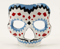 Day of the Dead Mask Blue