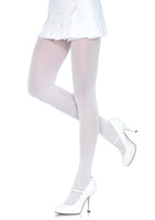 Nylon Tights One Size White