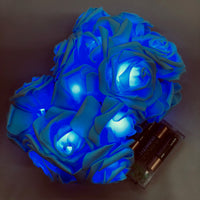Rose String Lights Blue