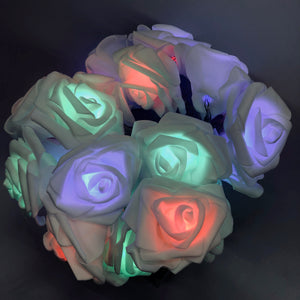 Rose String Lights Multi-Color