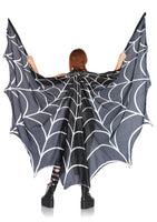 Spiderweb Halter Wing Cape